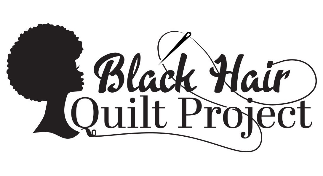 A silhouette of a Black woman's head, the words