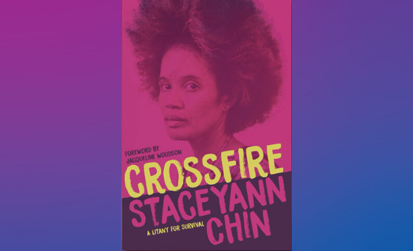 Book cover: Staceyann Chin, from the shoulders up, looking at the camera