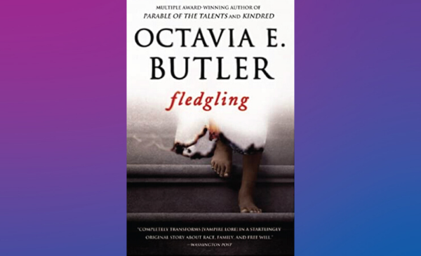 Book cover: The bare feet of a Black person walking down concrete steps