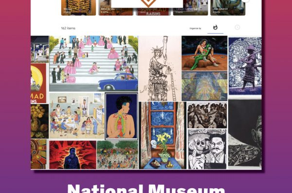 Images and text from various museum exhibits