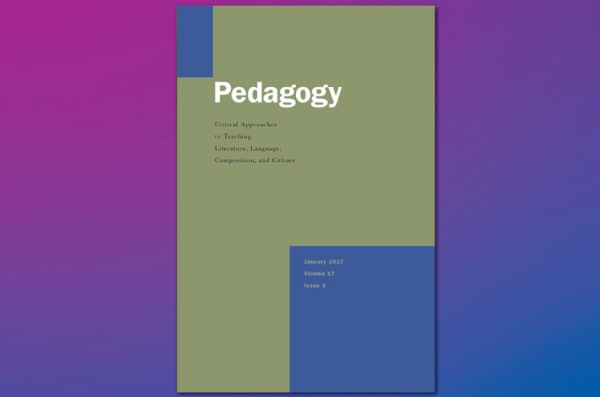 Cover of Pedagogy journal