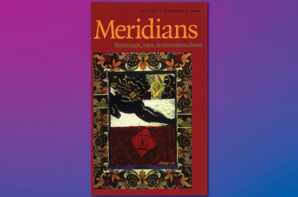 Cover of Meridians journal
