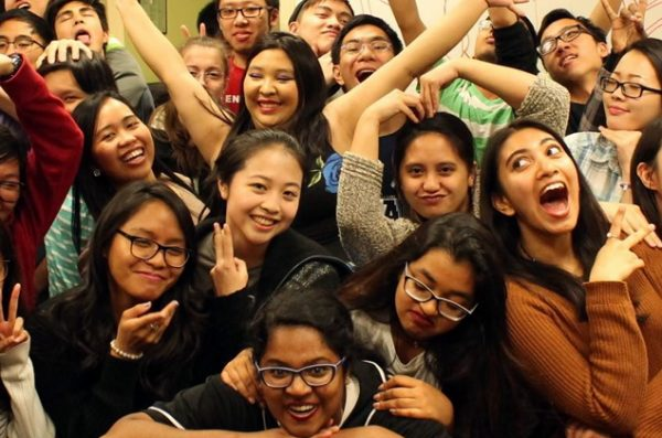 a group picture taken at the asian american resource and cultural center