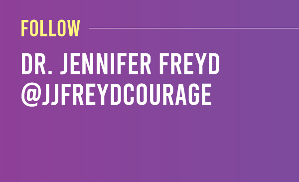 Dr. Jennifer Freyd @jjfreydcourage