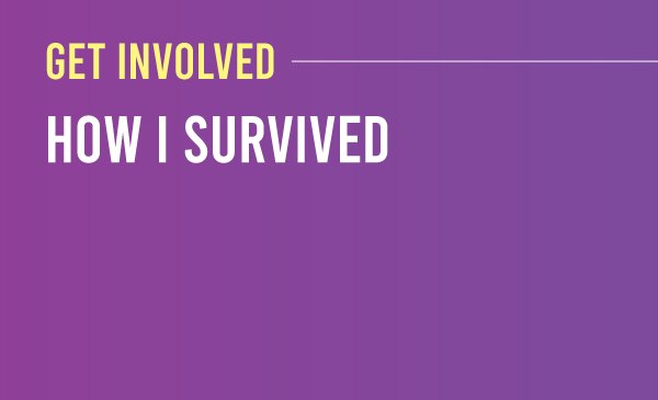 get involved a series that amplifies stories of how folks are surviving the trauma they've lived